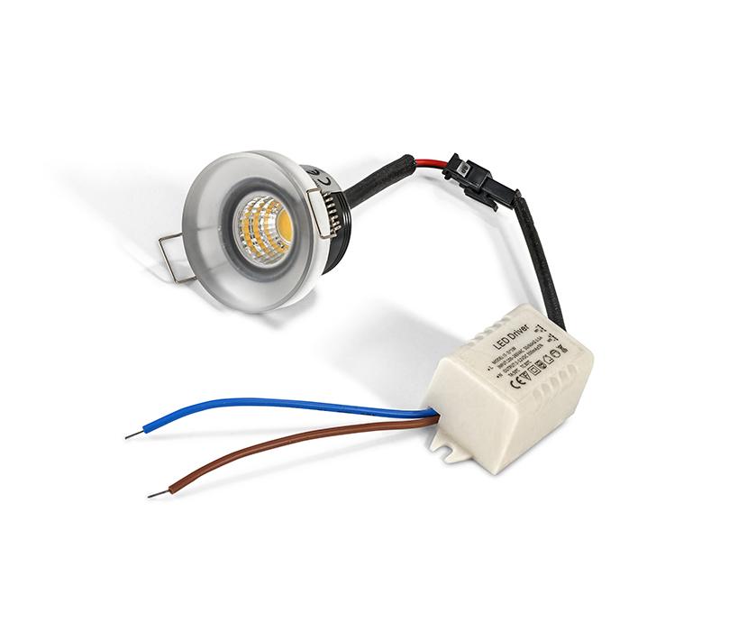 Azzardo AZ-2235 Oka Al beépíthető lámpa / Azzardo AZ-SHAC-3W4000-WH /