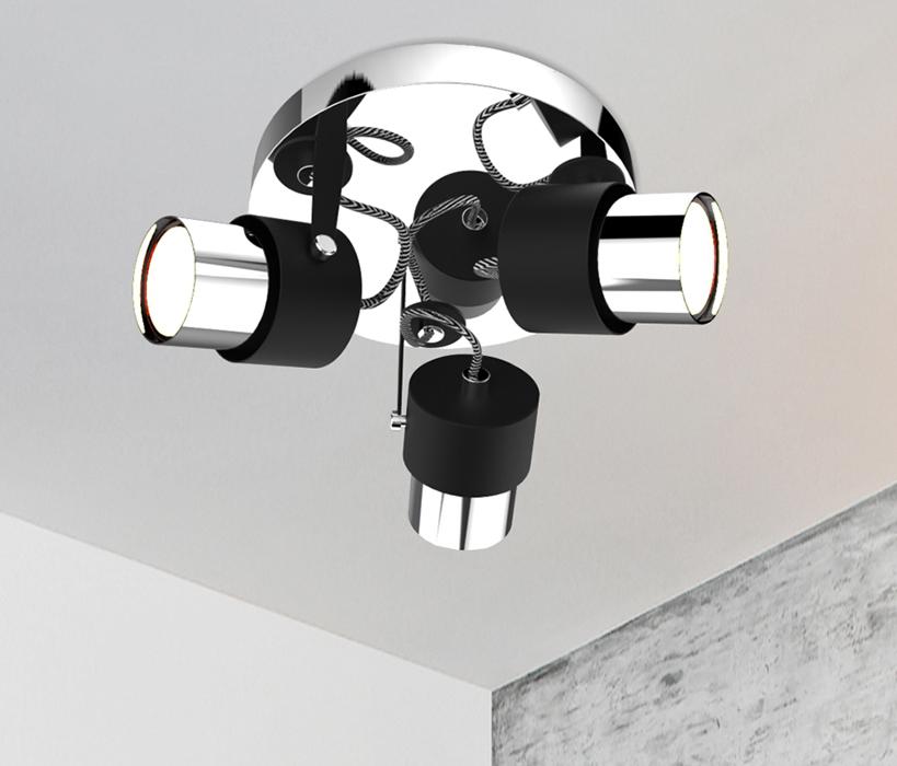 Zuma  Rao mennyezeti lámpa / Zuma / lámpa ZU-CK99893-3