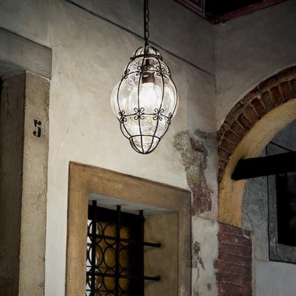 Ideal Lux 131788 ANFORA SP1 SMALL lámpa függeszték