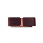 Ideal Lux 170923 CLIP AP2 MINI CORTEN falilámpa