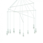 Ideal Lux 186801 POP SP10 BIANCO függeszték