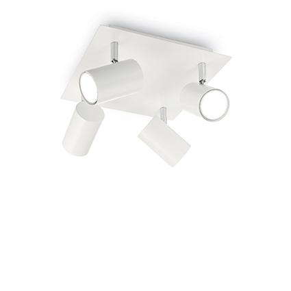 Ideal Lux 156774 SPOT PL4 BIANCO 4 izzós spot mennyezeti lámpa