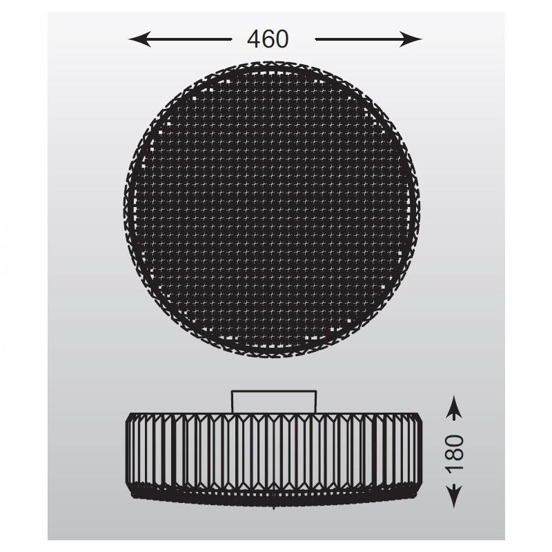 Zuma Prince mennyezeti lámpa ZU-C0360-05B-F4AC