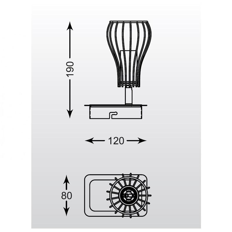 Zuma Oscar spot lámpa ZU-CK170519-1