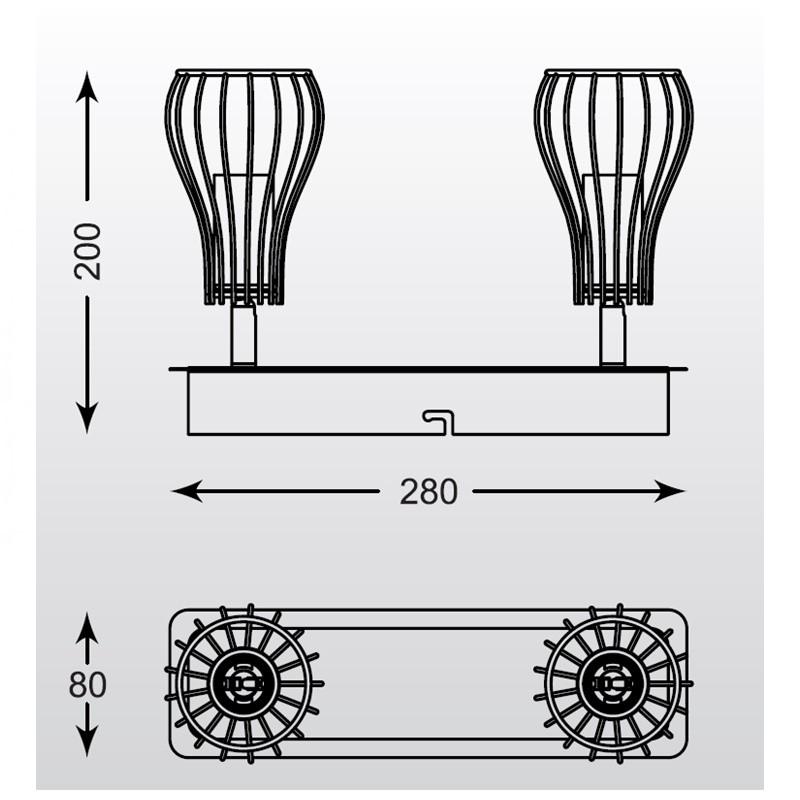 Zuma Oscar spot lámpa ZU-CK170519-2