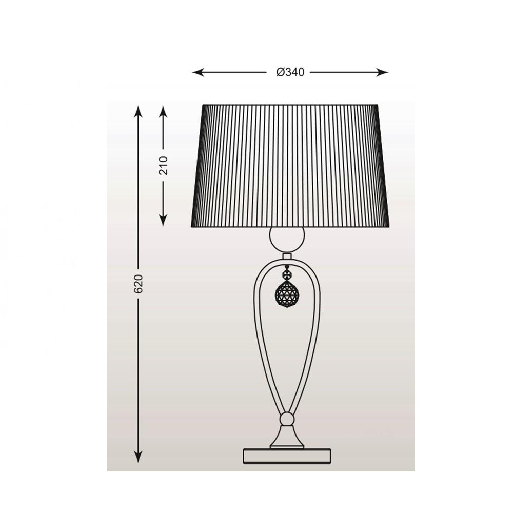 Zuma Bello asztali lámpa ZU-RLT93224-1A