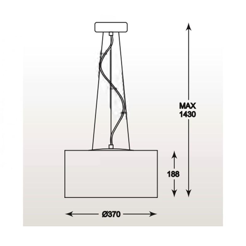 Zuma Blink függeszték 5 izzós /Zuma/ lámpa ZU-P0173-05W