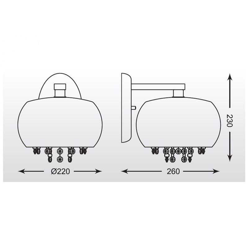 Zuma Vista falikar ZU-W0076-01E-F4GR