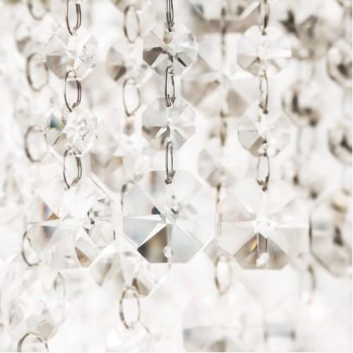 Incanti 5 izzós kristály mennyezeti lámpa EVITA IEV CL5 10 60