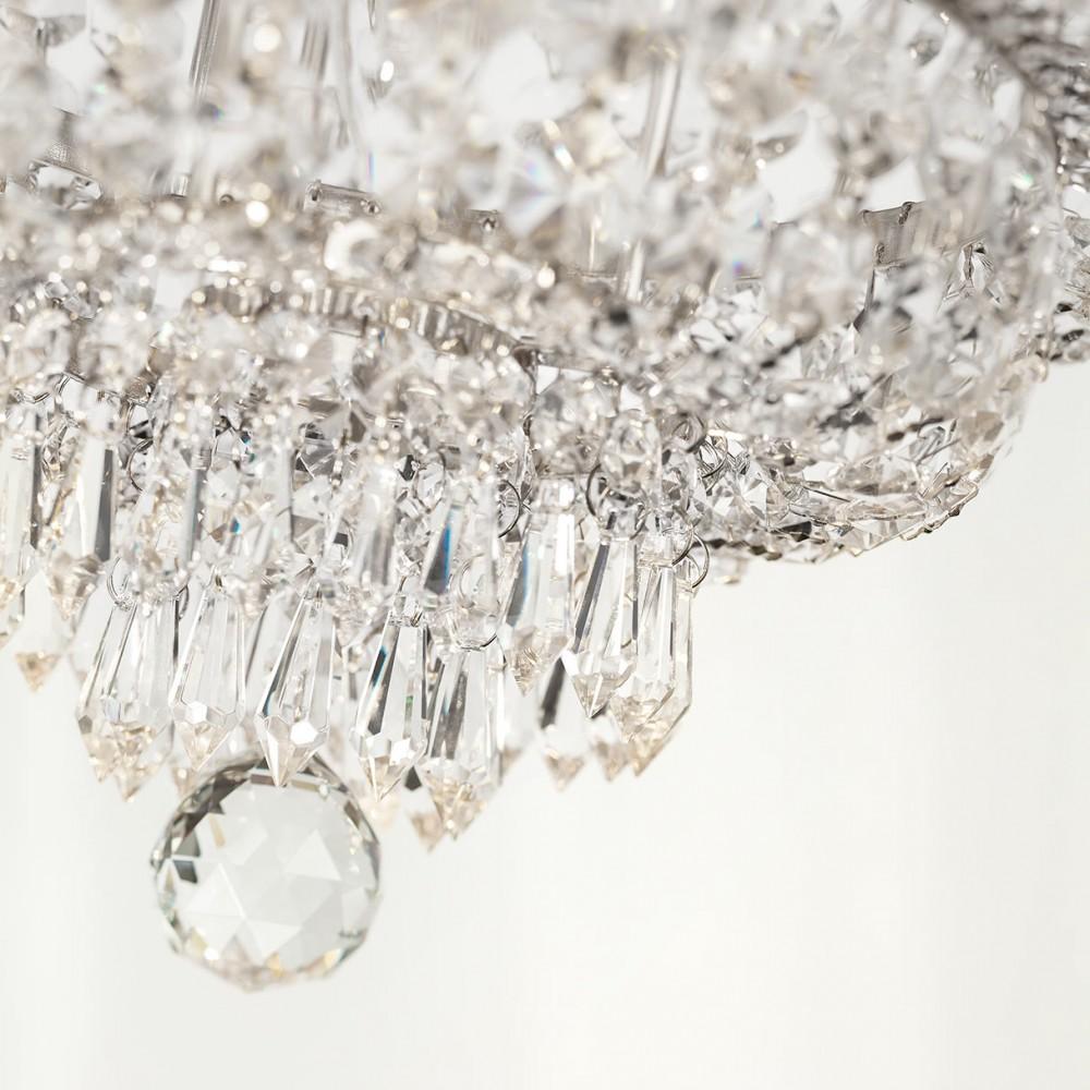 Incanti 8 izzós kristály mennyezeti lámpa QUEEN IQN CL8 10 60