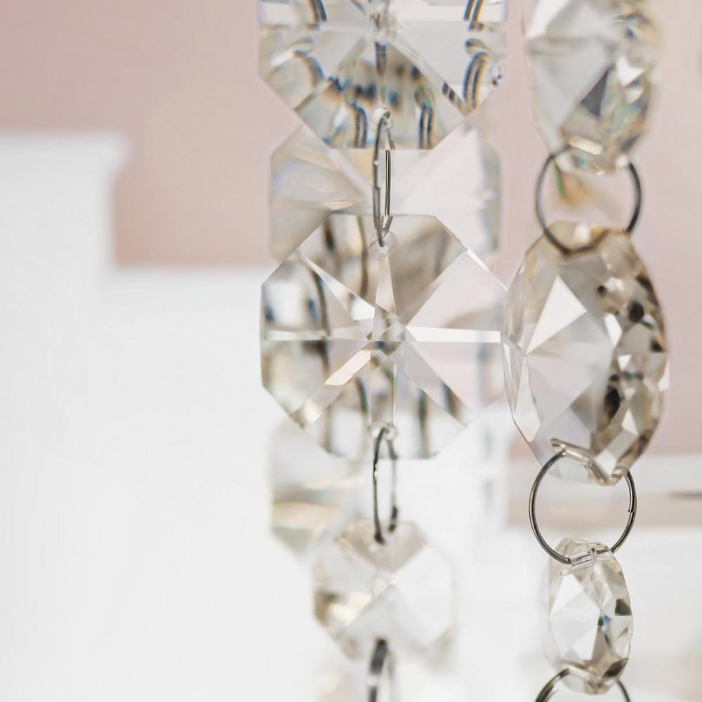 Incanti 6 izzós kristály lámpa függeszték TREVI ITV PR6 10 60