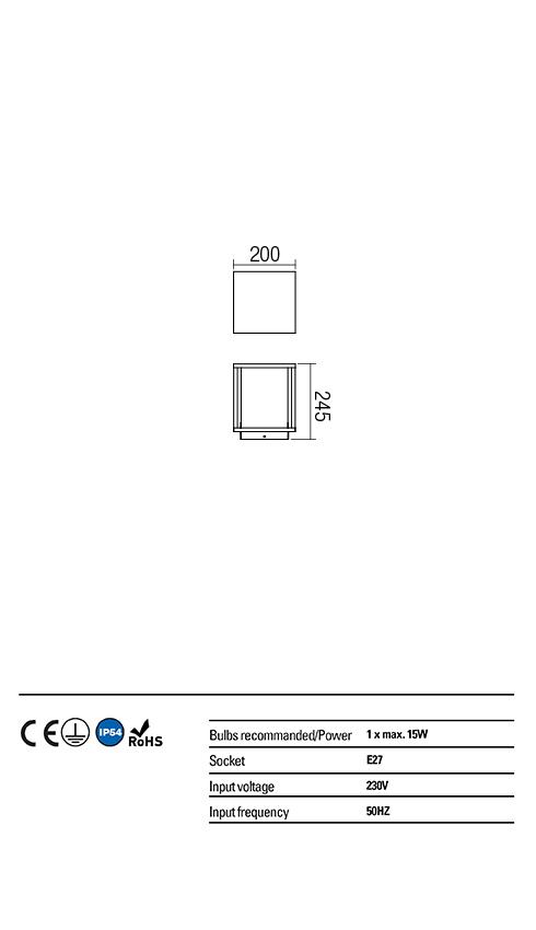 Redo OUT kültéri kicsi állólámpa 9109 VITRA