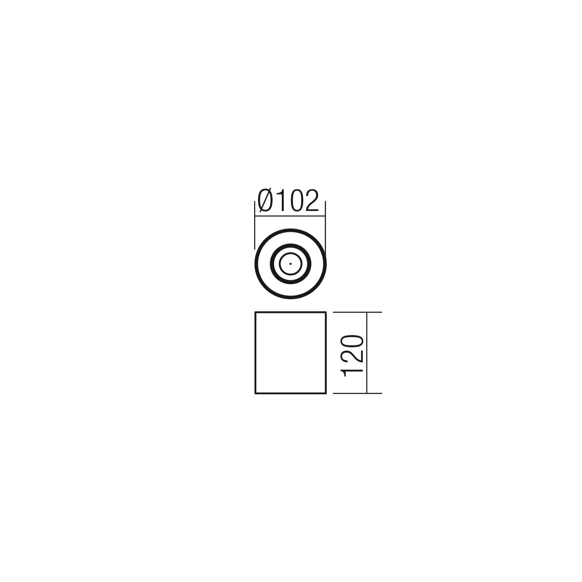 Redo SML mennyezeti lámpa 01-1306 KATO