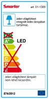 Redo SML LED függeszték 01-1389 METIS