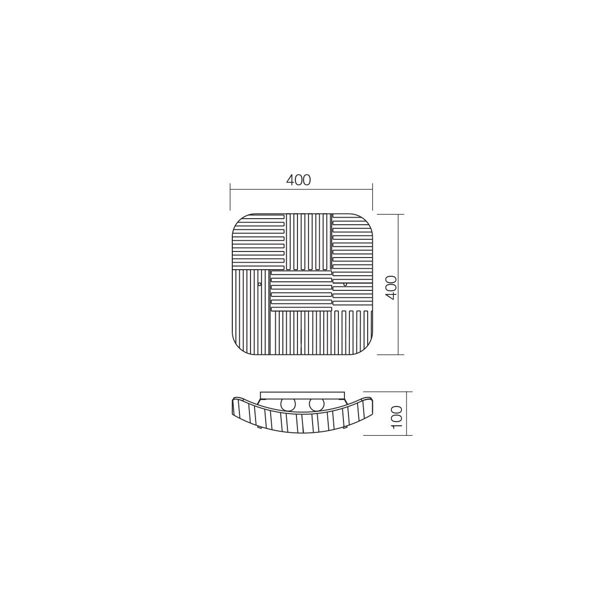 Redo SML 2 izzós mennyezeti lámpa 05-870 SEKTOR