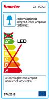 Redo SML LED mennyezeti lámpa 05-846 TETRIS