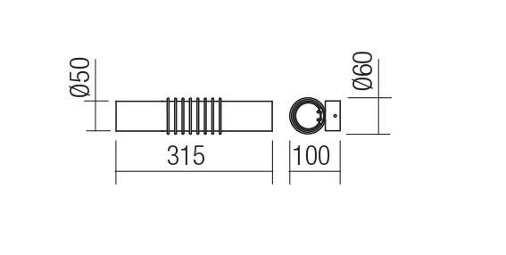 Redo SML LED fali lámpa 01-1429 AVANCE