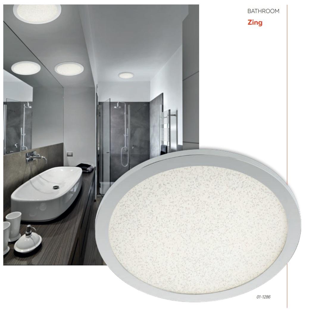 Redo SML LED fürdőszobai mennyezeti lámpa 01-1286 ZING