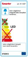 Redo SML LED fürdőszobai mennyezeti lámpa 01-1287 ZING