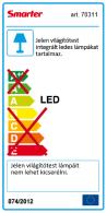Redo SML LED beépíthető spot lámpa 70313 CR.35