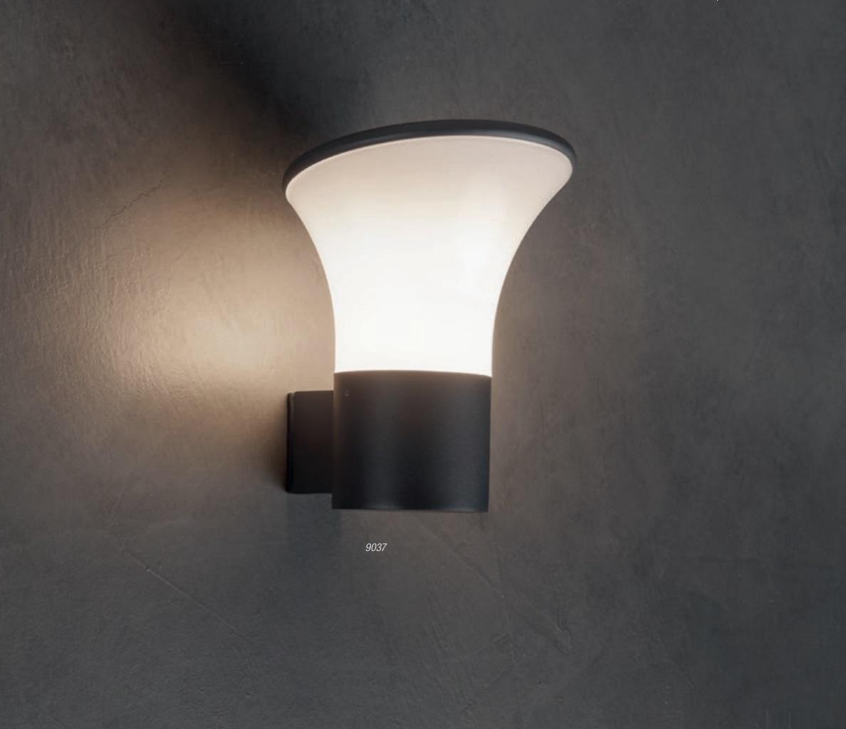 Redo SML kültéri fali lámpa 9037 BERGEN