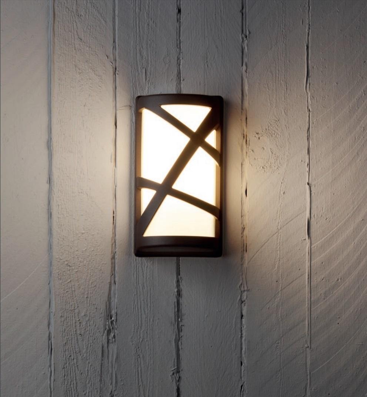Redo SML kültéri fali lámpa 9097 VORTEX