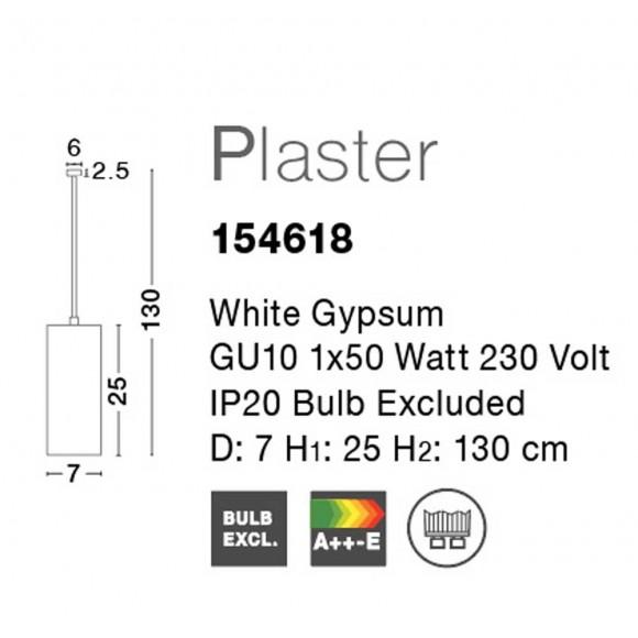 Nova Luce Facile 1 izzós függeszték NL-154618
