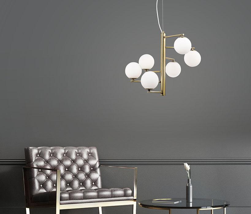 Nova Luce 6 izzós Agrigento függeszték NL-1700306001