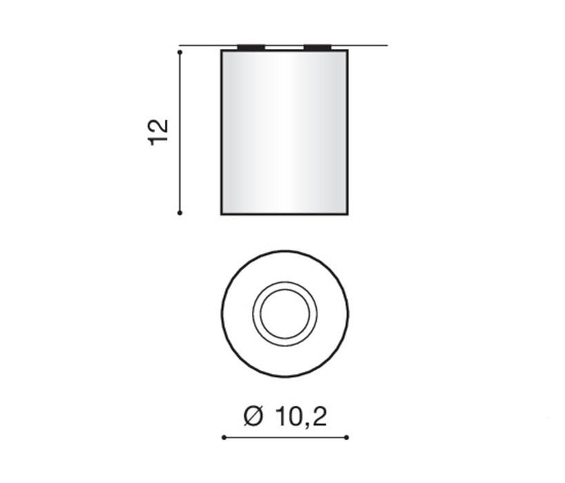 AZzardo AZ-0606 Neos mennyezeti lámpa / AZzardo AZ-FH31431BWH-ALU /