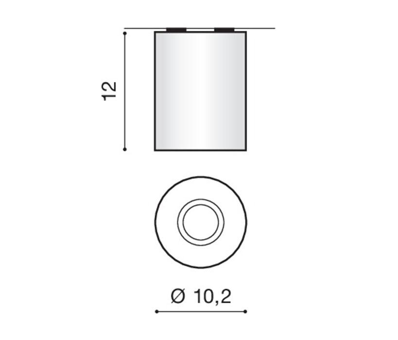 AZzardo AZ-0607 Neos mennyezeti lámpa / AZzardo AZ-FH31431BBL-ALU