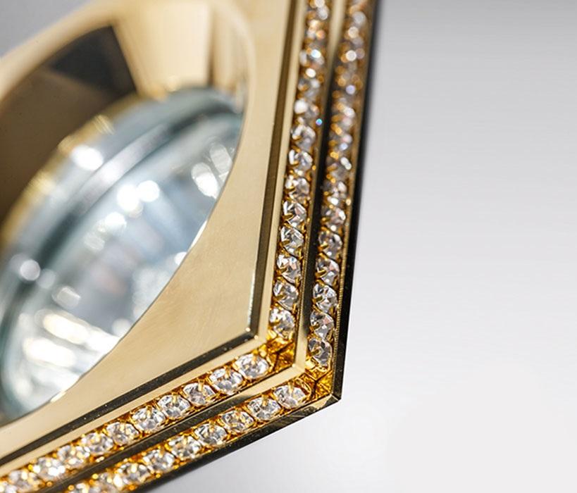 Azzardo AZ-1461 Eva kristály beépíthetõ lámpa