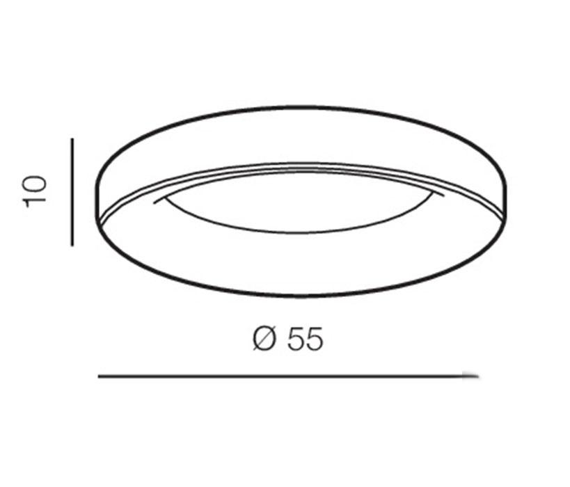 AZzardo AZ-2725 Sovana távirányítós LED mennyezeti lámpa