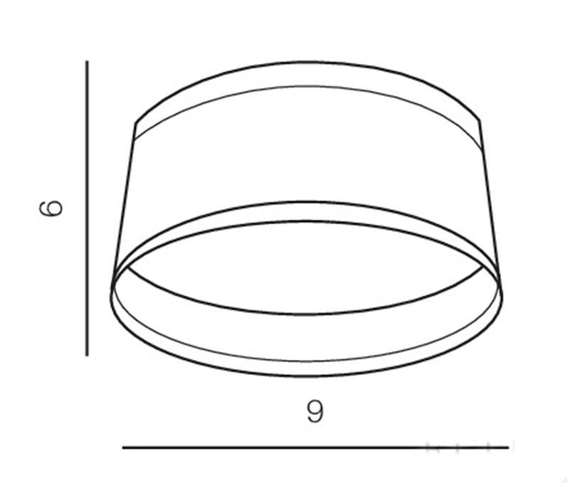 Azzardo AZ-2773 Una LED fürdõszobai beépíthetõ lámpa