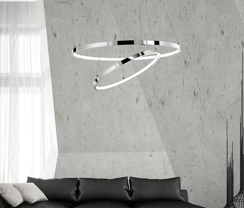 Nova Luce NL-17222003D Aria LED függeszték