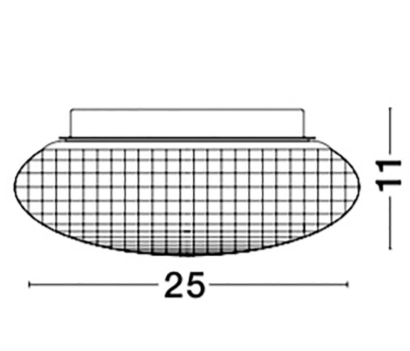 Nova Luce NL-838123 Sens fürdõszobai mennyezeti lámpa