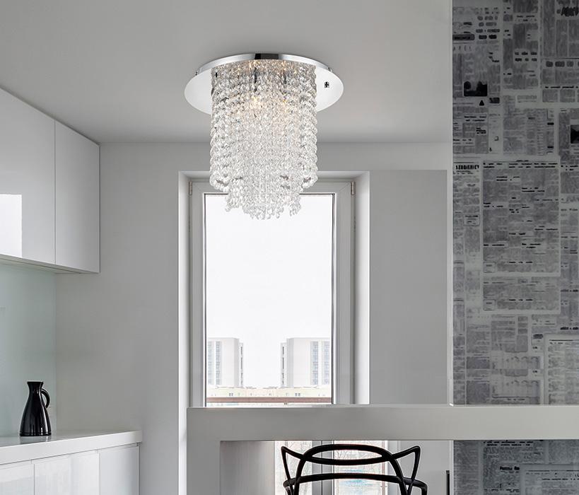 Nova Luce NL-9361082 Fontana kristály mennyezeti lámpa