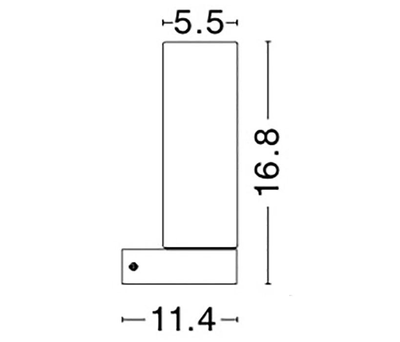 Nova Luce NL-41619201 Polo fürdõszobai fali lámpa