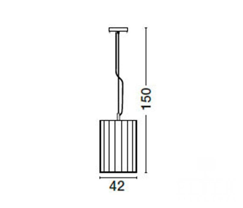 Nova Luce NL-7252602 Celso függeszték