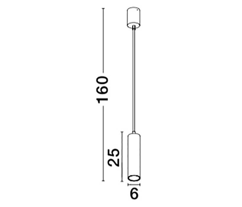 Nova Luce NL-74014601WH Concetta függeszték