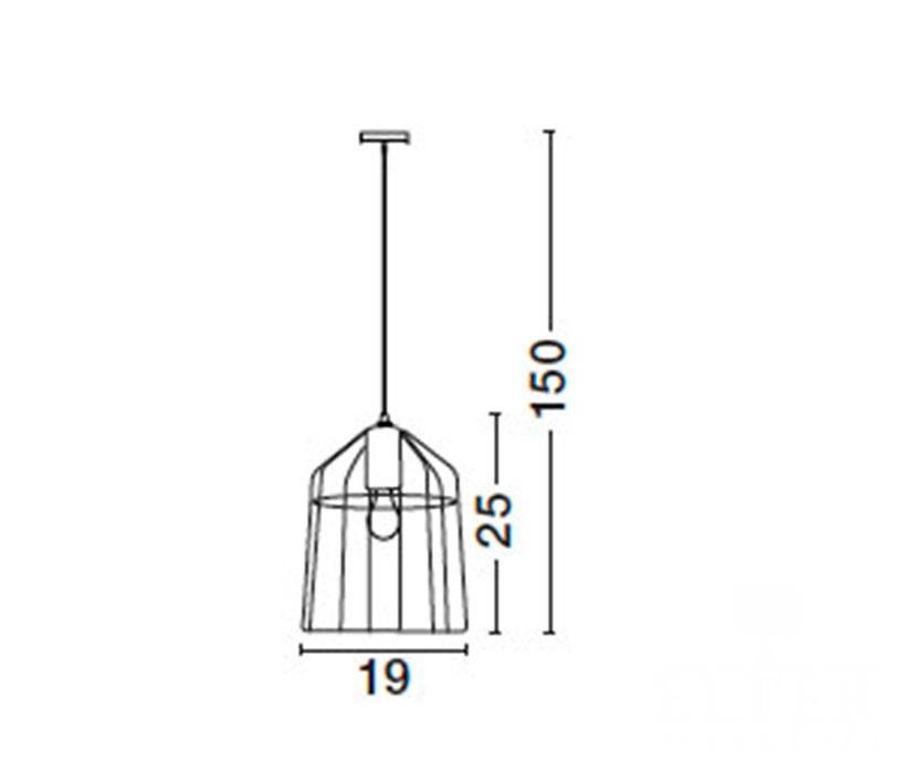 Nova Luce NL-7605179 Peppino függeszték