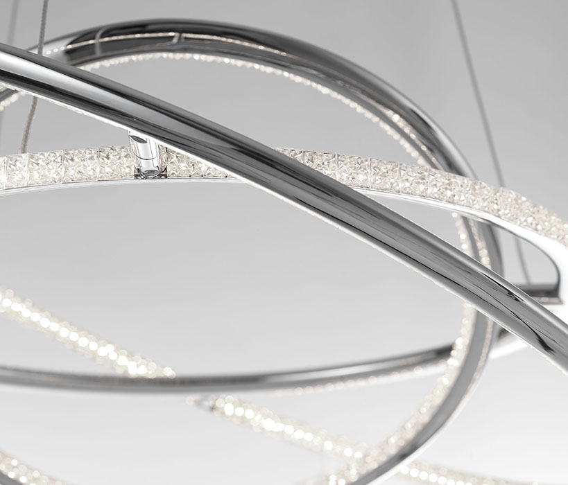 Nova Luce NL-8107401 Livorno LED függeszték
