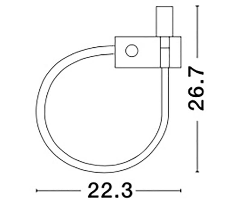 Nova Luce NL-8126581 Geneva LED 1-es spotlámpa