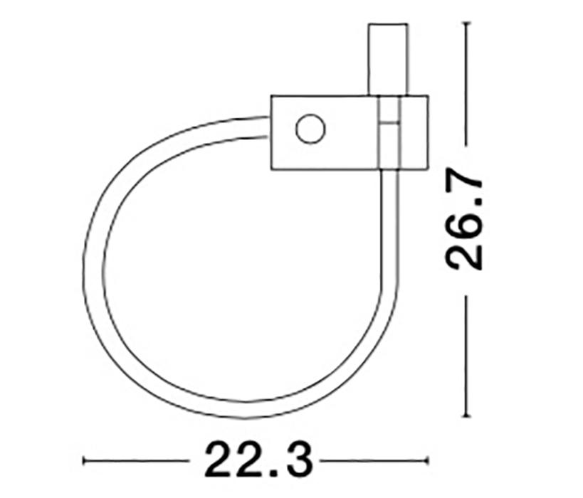 Nova Luce NL-8126582 Geneva LED 1-es spotlámpa