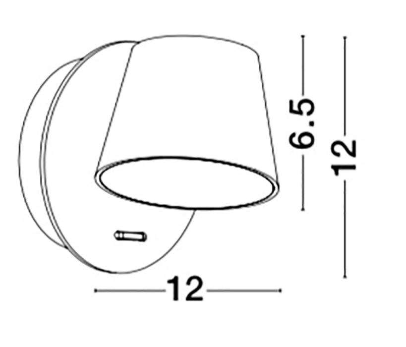 Nova Luce NL-8223602 Amadeo LED falikar