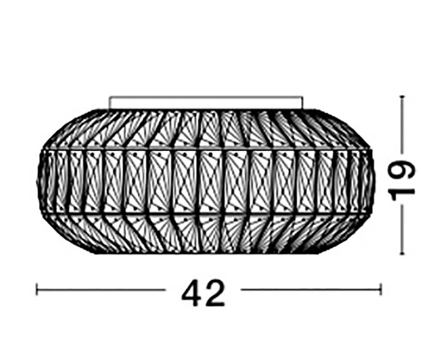 Nova Luce NL-8501651 Valence mennyezeti lámpa