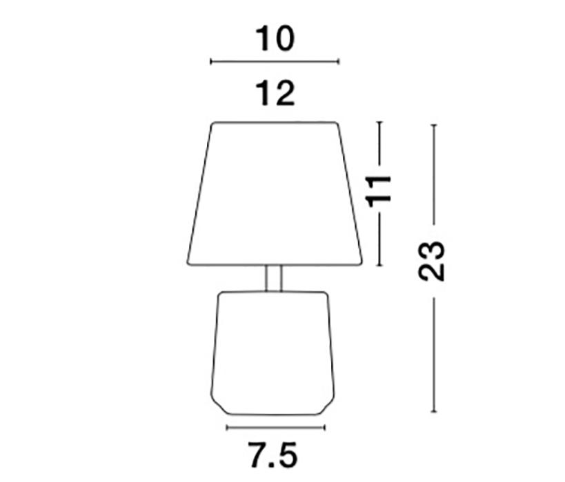 Nova Luce NL-8805202 Alicia asztali lámpa