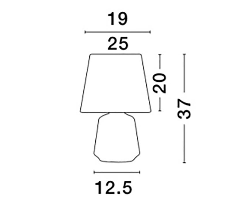 Nova Luce NL-8807001 Ada asztali lámpa