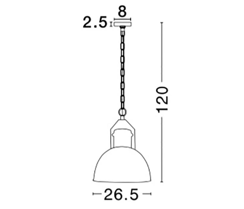Nova Luce NL-9020411 Quin függeszték