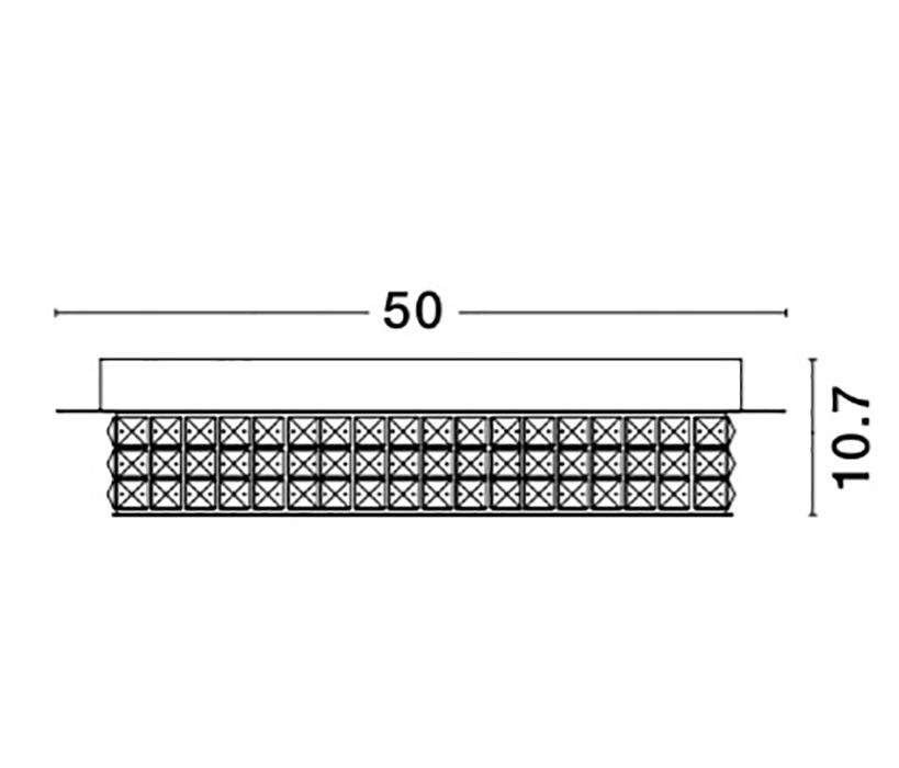 Nova Luce NL-9361083 Zeffari LED mennyezeti lámpa