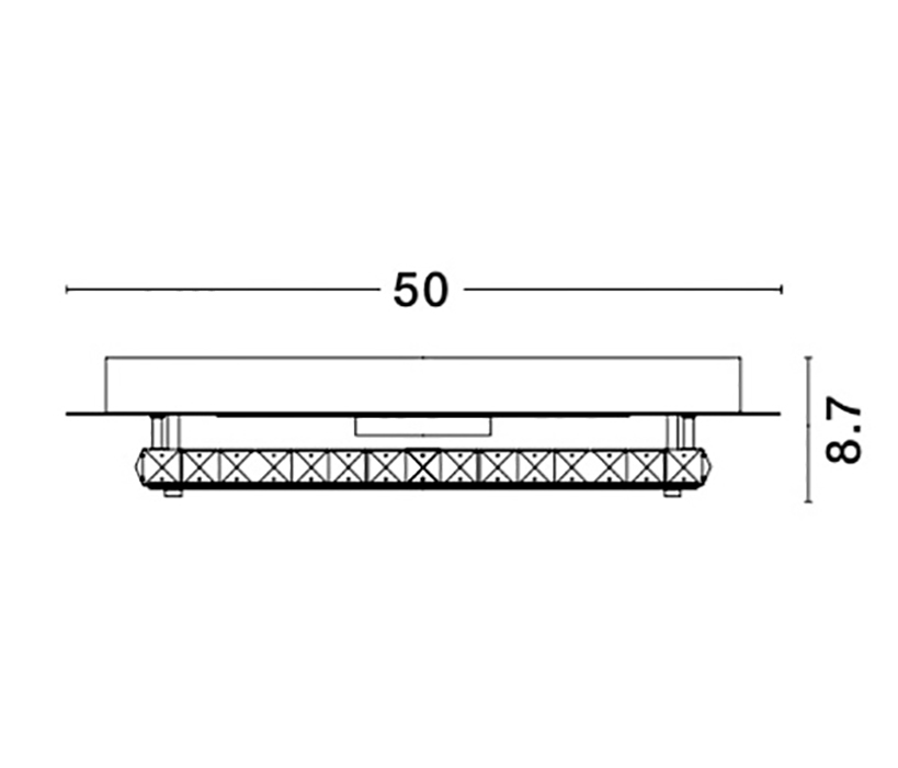 Nova Luce NL-9361085 Zeffari LED mennyezeti lámpa